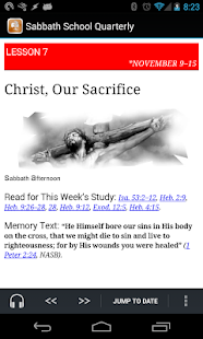 SDA Sabbath School Quarterly - screenshot thumbnail