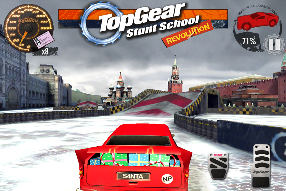 Top Gear: Stunt School SSR screenshot #7