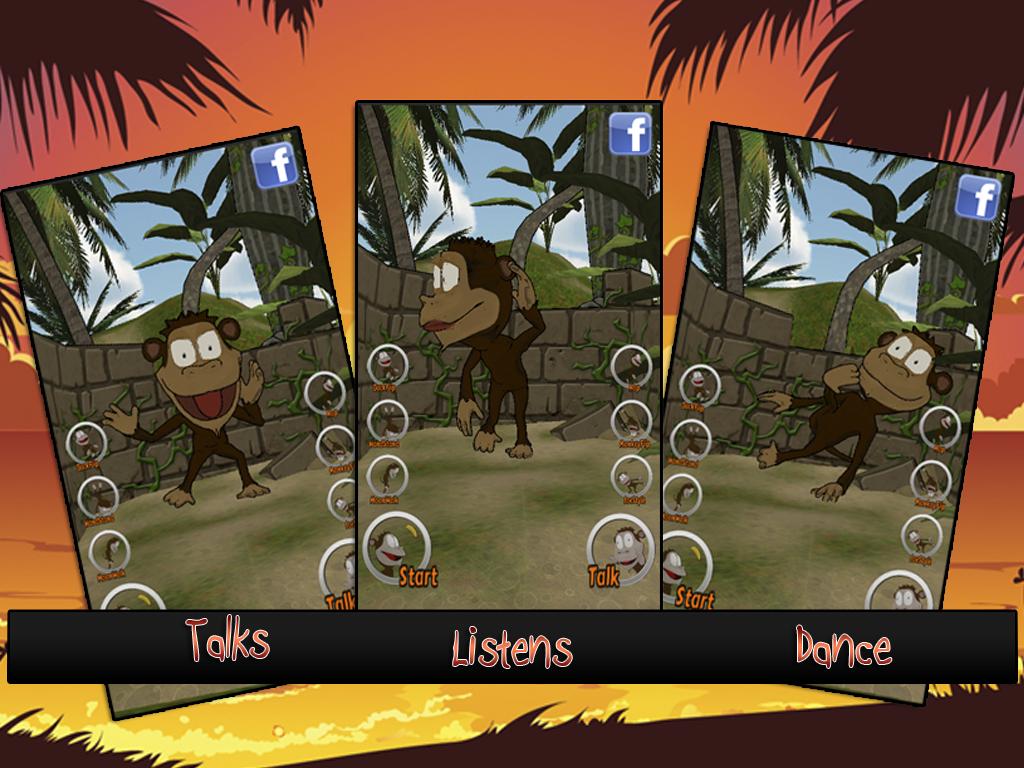 Cut fruits game - Cut The Fruits Talking Joe Screenshot