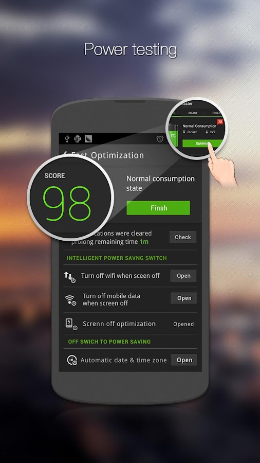 GO Battery Saver &Power Widget - screenshot