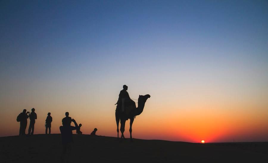 Twilight mood of Jaisalmer... by Mithilesh Choubey - Landscapes Deserts