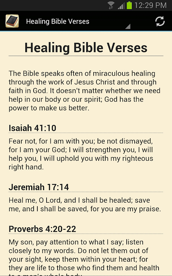 Best Bible Verses By Topic - screenshot