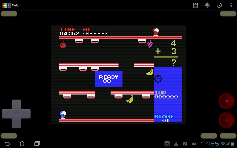 ColEm - Free Coleco Emulator- screenshot