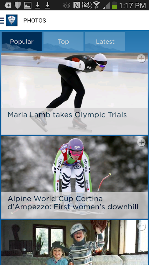 NBC Olympics Highlights - screenshot