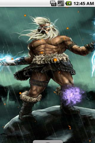 download the angry zeus live wallpaper android apps on nonesearch com