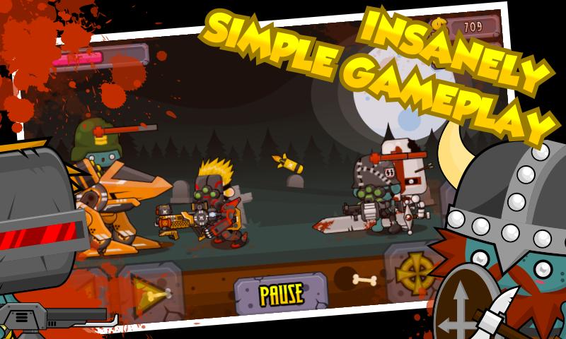 Shotgun vs Zombies- screenshot