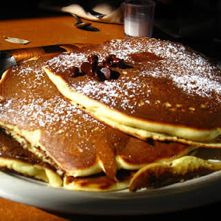 Chocolate Chip Pancakes.