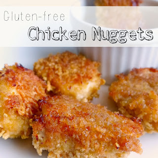 Homemade Gluten-free Chicken Nuggets.