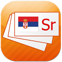 Serbian flashcards icon