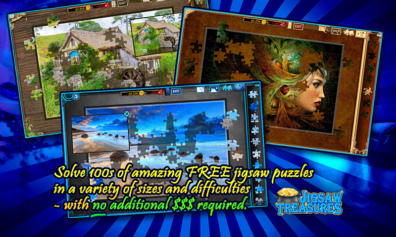 Jigsaw Puzzle Treasures- screenshot