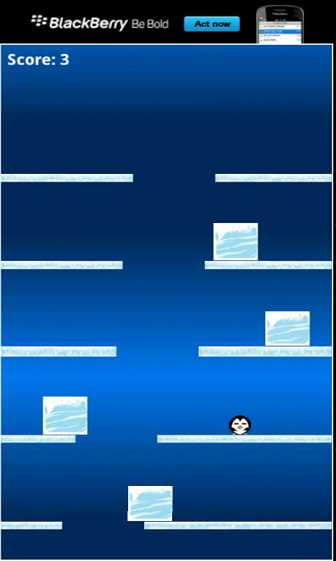 Penguin Falldown - screenshot