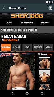 MMA Odds- screenshot thumbnail