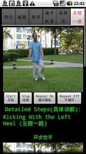 Chen TaiChi18-2 陈氏十八式太极拳2- screenshot thumbnail