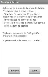 Simulado da prova do Detran - screenshot thumbnail