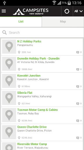 【免費旅遊App】New Zealand Campsites-APP點子