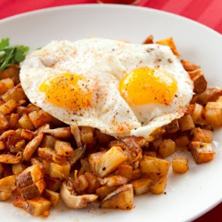 Shredded Chicken Hash.