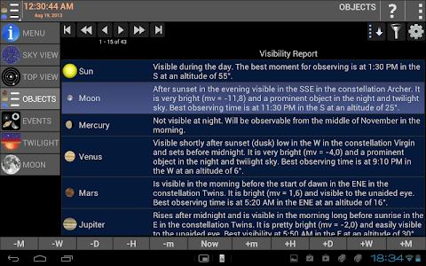 Mobile Observatory - Astronomy v2.43