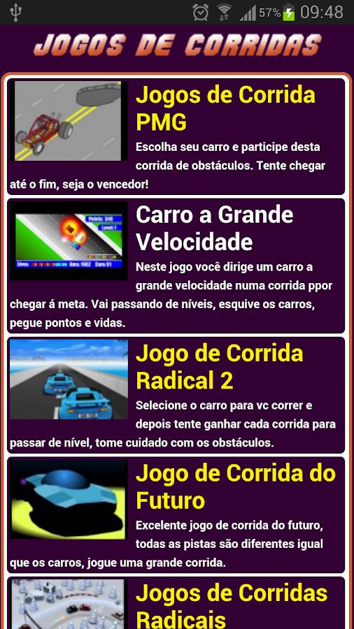 Jogos de corrida - screenshot