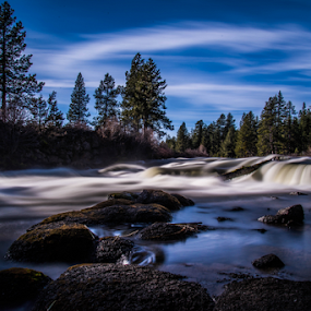 dillon falls 2 by James Case - Landscapes Waterscapes ( forests, nature, falls, landscapes, river )