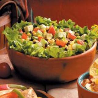 Black Bean Avocado Salad.