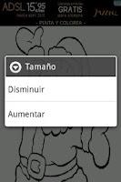 Screenshot of Pinta y Colorea