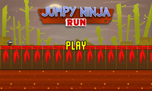 Jumpy Ninja Run