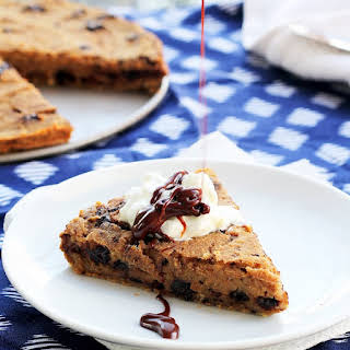 Chocolate Chip Banana Cookie Pie.