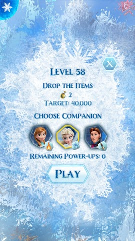 android La Reine des Neiges Free Fall Screenshot 20