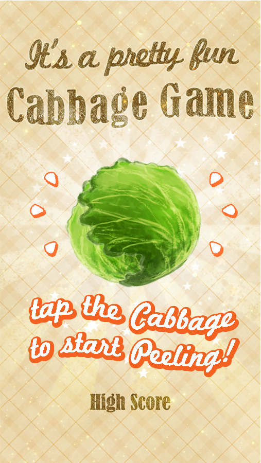 Cabbage Game- screenshot