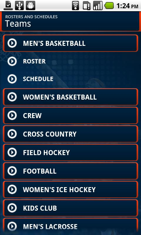 Syracuse University Athletics - screenshot