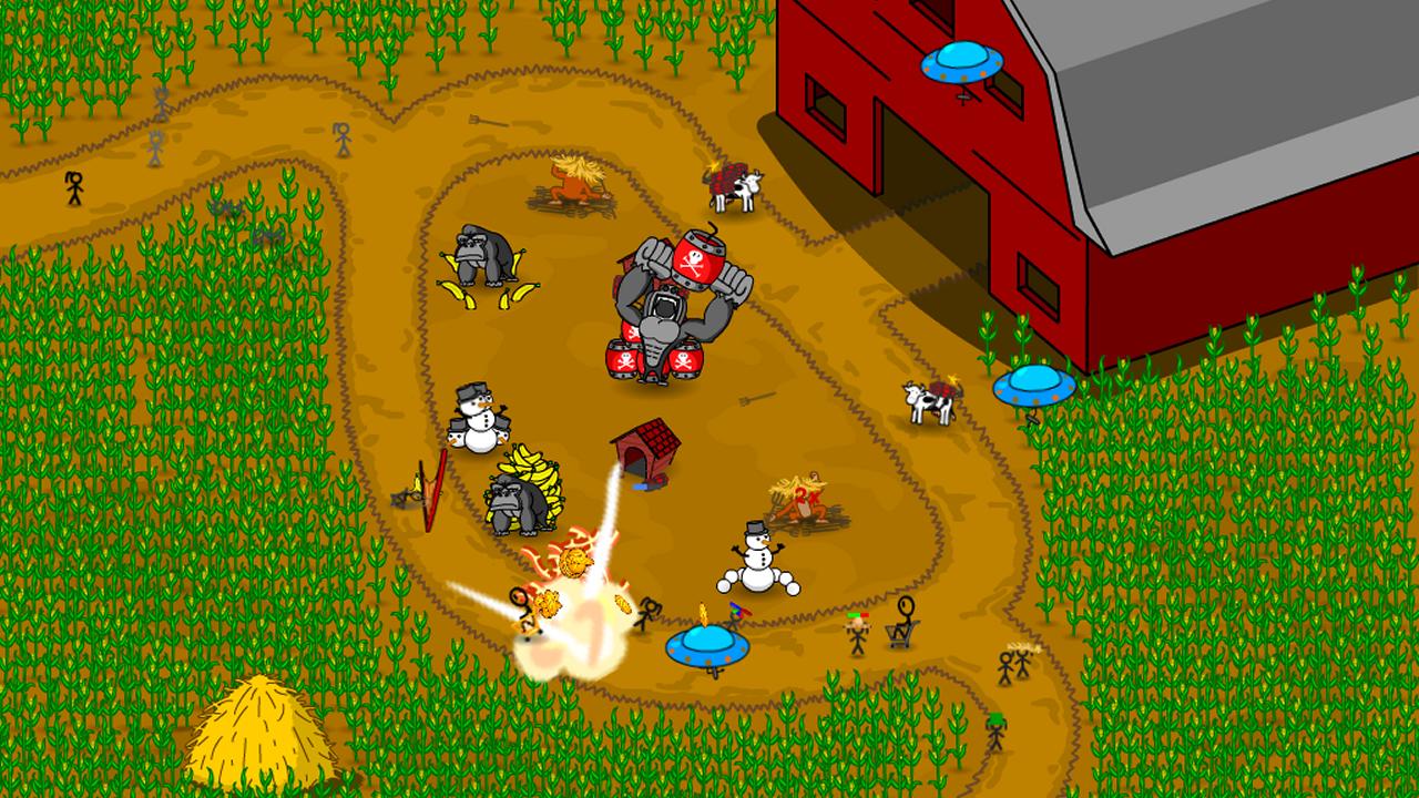 Shopping-Cart-Defense 25