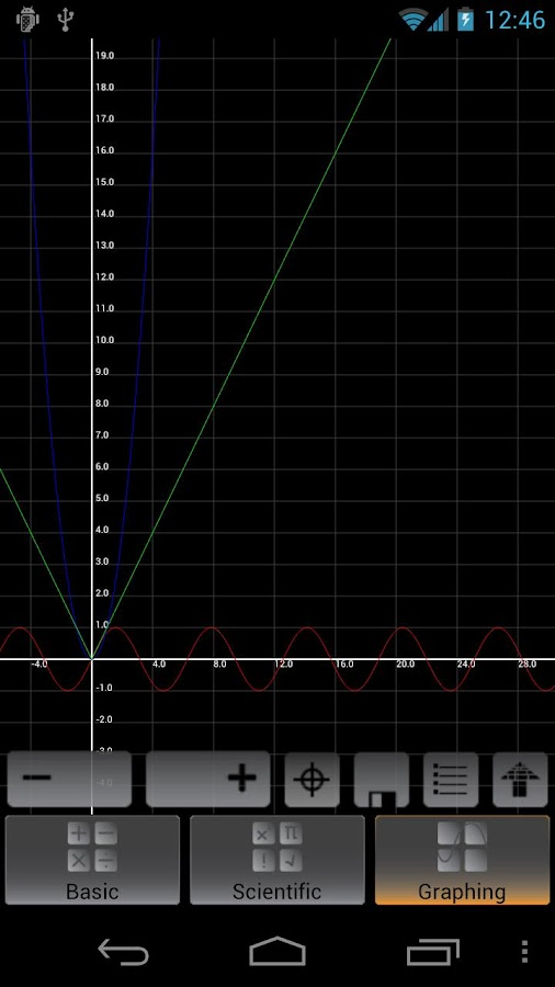 Graphing Calculator Screenshot 5