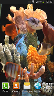 Aquarium Live Wallpaper HD