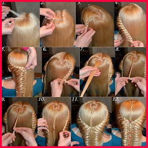 step by step- Hairstyles