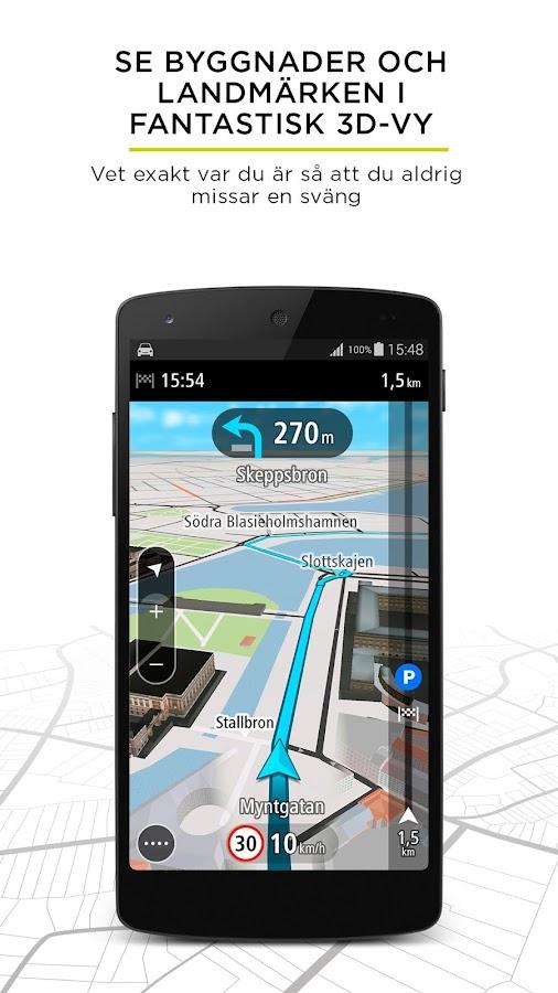tomtom go mobile gps trafik android appar p google play. Black Bedroom Furniture Sets. Home Design Ideas
