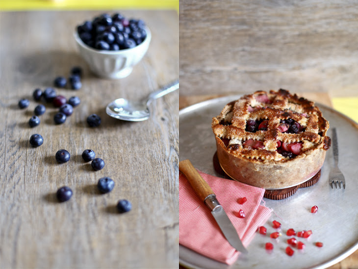 Blueberry and Rhubarb Pie Recipe