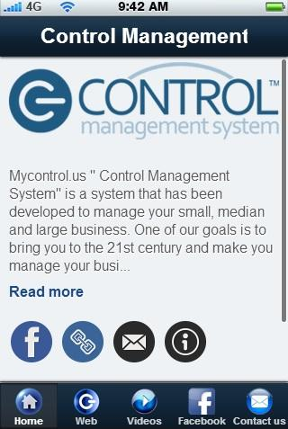 Control Management System