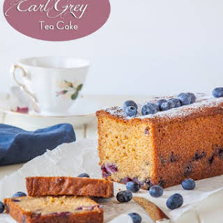 Blueberry and Earl Grey Tea Cake.