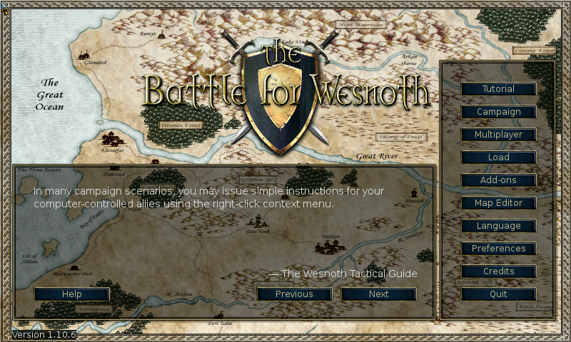 Battle for Wesnoth - screenshot