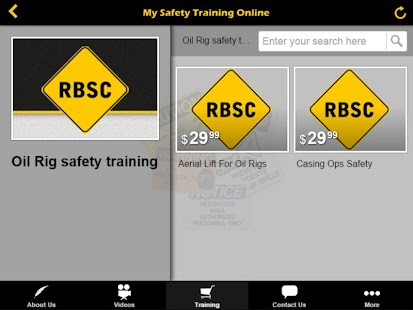 Mysafetytrainingonline- screenshot thumbnail