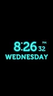 ★ Perfect Neon Alarm Clock - screenshot thumbnail
