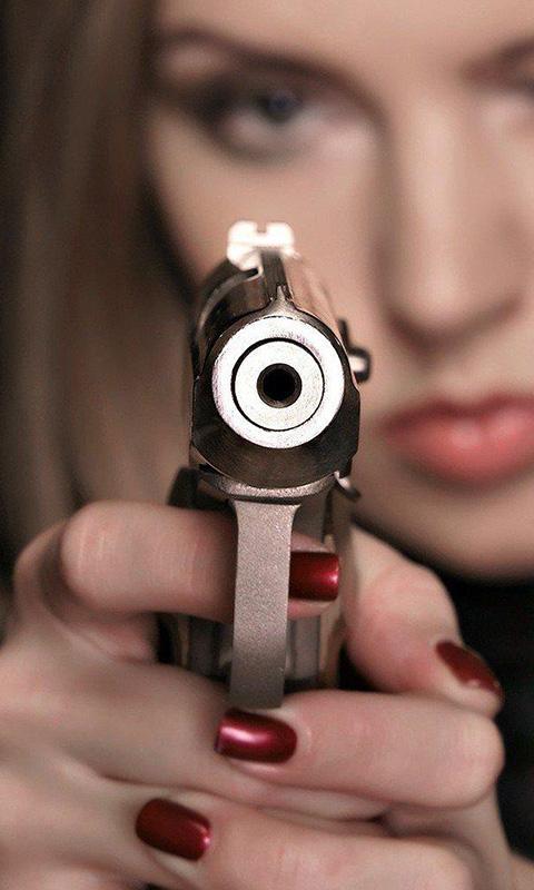 Прикольные картинки с пистолетом в руках на аву