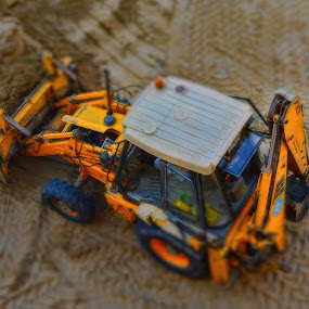 tractor by Jigs Crisostomo - Transportation Other ( #tractor, #construction )