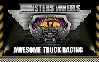 Screenshot of Monster Wheels: Kings of Crash