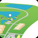 จดตำแหน่ง Google map icon
