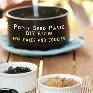 Poppy seed paste - DIY