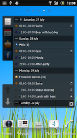 All-in-One Agenda widget Screenshot 6