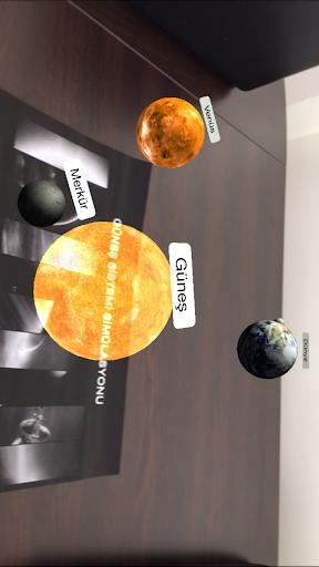 AR Güneş Sistemi