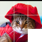 Lovely Cat Sliding Puzzle
