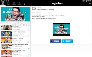 Screenshot of Cyprien
